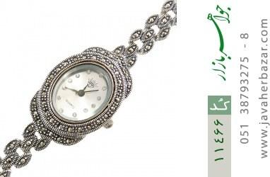 ساعت مارکازیت نقره طرح مجلسی و شیک زنانه - کد 11466