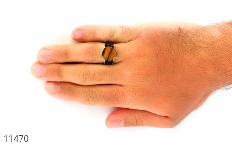 انگشتر چشم ببر مردانه - عکس 7