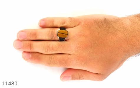 انگشتر چشم ببر چشم ببر کار ترک مردانه - عکس 7