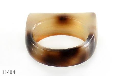 انگشتر عقیق حلقه سنگی تراش خاص زنانه - عکس 3