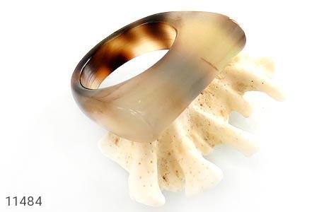 انگشتر عقیق حلقه سنگی تراش خاص زنانه - عکس 5