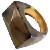 انگشتر عقیق حلقه سنگی تراش زنانه