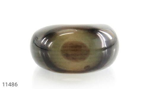 انگشتر عقیق حلقه سنگی خوش نقش زنانه - تصویر 2