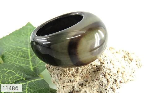 انگشتر عقیق حلقه سنگی خوش نقش زنانه - تصویر 6