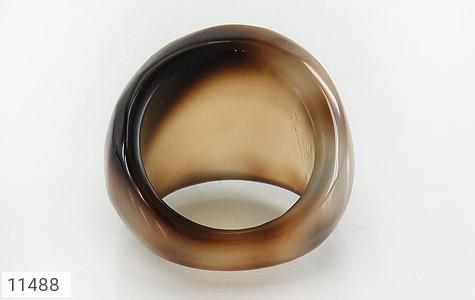 انگشتر عقیق حلقه سنگی طرح خاص زنانه - تصویر 4