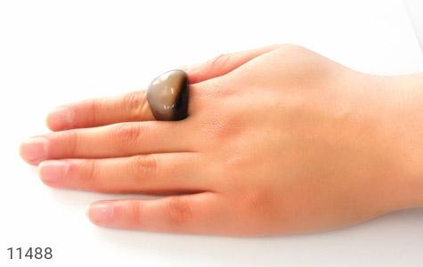 انگشتر عقیق حلقه سنگی طرح خاص زنانه - عکس 7