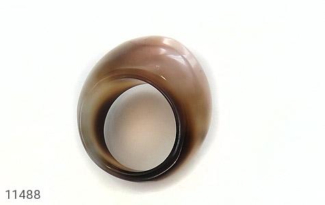انگشتر عقیق حلقه سنگی طرح خاص زنانه - عکس 9