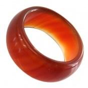 انگشتر عقیق قرمز رینگ سنگی زنانه