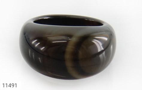 انگشتر عقیق حلقه سنگی زیبا زنانه - تصویر 2