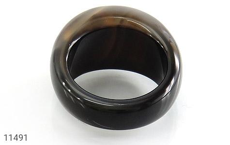انگشتر عقیق حلقه سنگی زیبا زنانه - تصویر 4