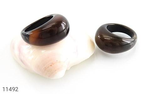 انگشتر عقیق حلقه سنگی زیبا و شیک زنانه - عکس 5