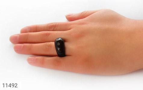 انگشتر عقیق حلقه سنگی زیبا و شیک زنانه - عکس 7