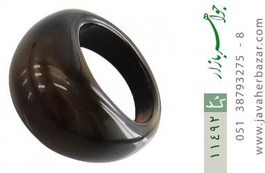 انگشتر عقیق حلقه سنگی زیبا و شیک زنانه - کد 11492