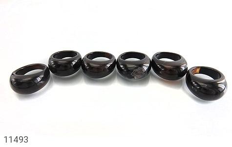 انگشتر عقیق حلقه سنگی جذاب زنانه - تصویر 10