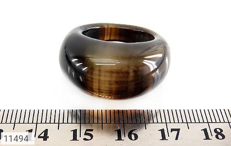 انگشتر عقیق حلقه سنگی درشت و جذاب زنانه - تصویر 4