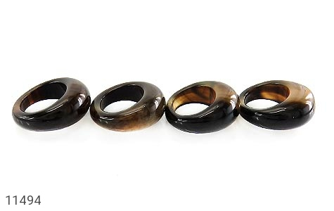 انگشتر عقیق حلقه سنگی درشت و جذاب زنانه - عکس 5