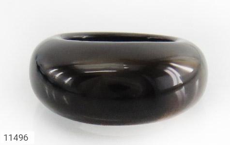 انگشتر عقیق حلقه سنگی درشت - تصویر 2