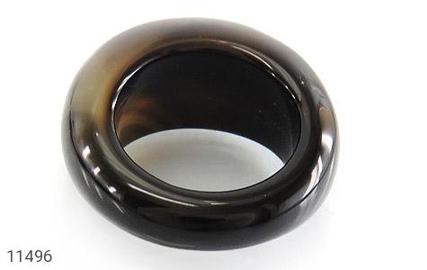 انگشتر عقیق حلقه سنگی درشت - تصویر 4