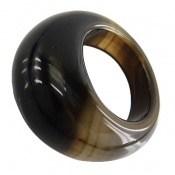 انگشتر عقیق حلقه سنگی شیک زنانه