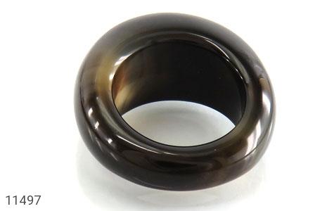 انگشتر عقیق حلقه سنگی شیک زنانه - تصویر 4