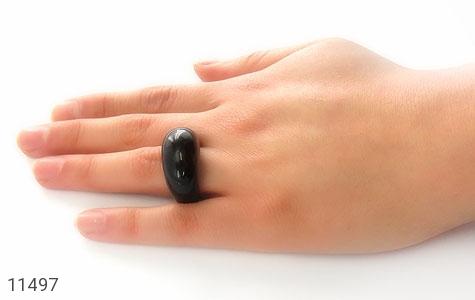 انگشتر عقیق حلقه سنگی شیک زنانه - عکس 7