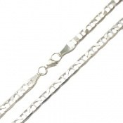 زنجیر نقره درشت 50 سانتی مردانه