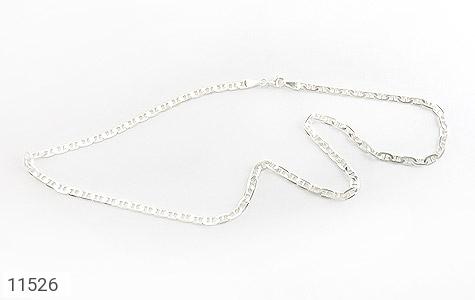 زنجیر نقره درشت 50 سانتی مردانه - تصویر 2