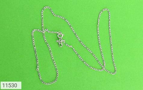 زنجیر نقره طرح اسپرت 40 سانتی - تصویر 2