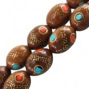 تسبیح کوک (کشکول) 33 دانه مرصع کاری