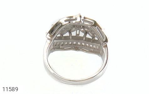 انگشتر نقره سولیتر درشت طرح آرشیدا زنانه - تصویر 4