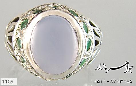 انگشتر عقیق یمن رکاب دست ساز - تصویر 4