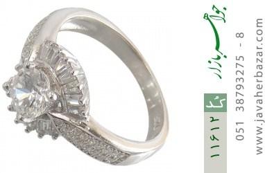 انگشتر نقره سولیتر طرح آوین زنانه - کد 11612