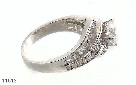 انگشتر نقره سولیتر طرح ثنا زنانه - تصویر 2