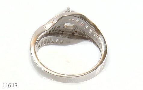 انگشتر نقره سولیتر طرح ثنا زنانه - تصویر 4