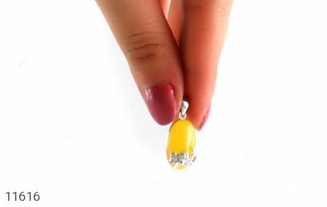 مدال عقیق زرد طرح نفس زنانه - تصویر 6