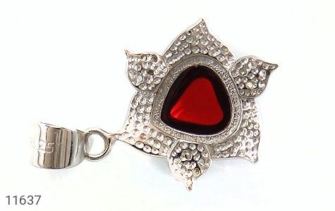 مدال نقره میناکاری جذاب زنانه - تصویر 2