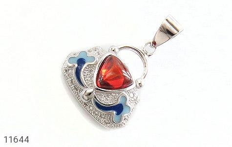 مدال نقره میناکاری طرح رویا زنانه - عکس 1