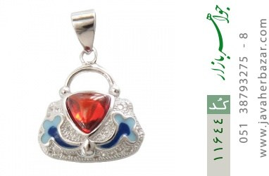 مدال نقره میناکاری طرح رویا زنانه - کد 11644