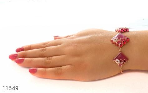 دستبند چشم گربه طرح سلطنتی و جذاب زنانه - تصویر 4