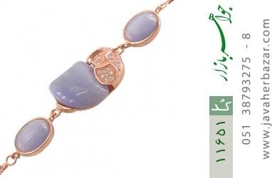 دستبند چشم گربه طرح فیل درشت و جذاب زنانه - کد 11651