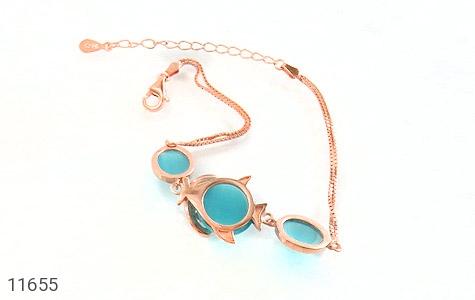 دستبند چشم گربه طرح درشت و جذاب زنانه - تصویر 2
