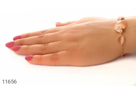 دستبند چشم گربه زینتی طرح فیل درشت زنانه - عکس 5