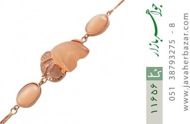 دستبند چشم گربه زینتی طرح فیل درشت زنانه - کد 11656