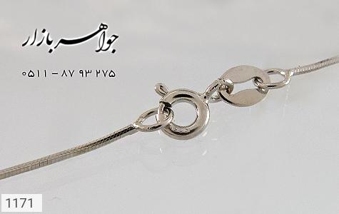 زنجیر نقره ایتالیایی 45 سانتیمتری - تصویر 4