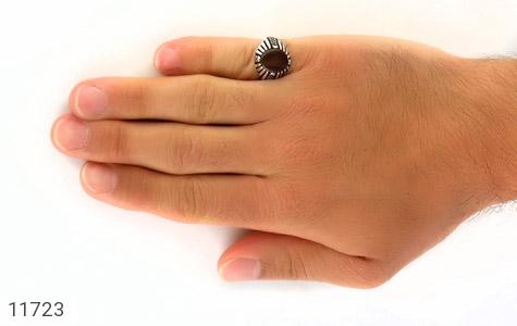 انگشتر عقیق جذاب و خاص مردانه - عکس 7