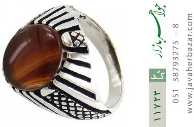 انگشتر عقیق جذاب و خاص مردانه - کد 11723