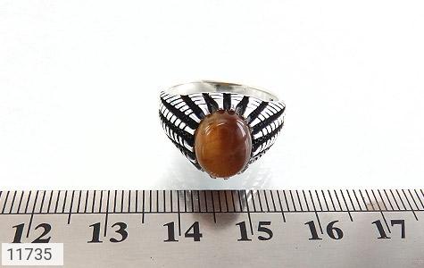 انگشتر چشم ببر دورچنگ مردانه - تصویر 6