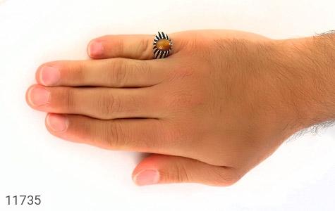 انگشتر چشم ببر دورچنگ مردانه - عکس 7