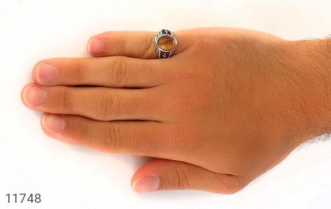 انگشتر چشم ببر طرح ناخدا مردانه - عکس 7