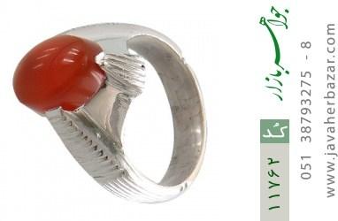 انگشتر عقیق یمن هنر دست استاد بامری - کد 11762